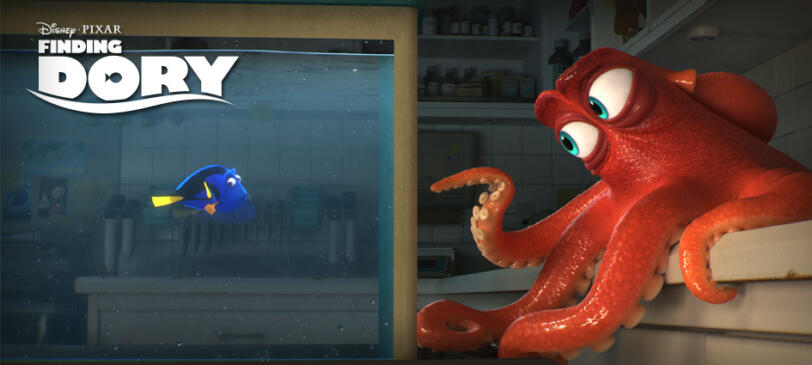 """Courtesy PIXAR – Finding Dory – Everyone's favorite forgetful blue tang is """"just keep swimming"""" into theaters June  17, 2016 (Credit: PIXAR)"""