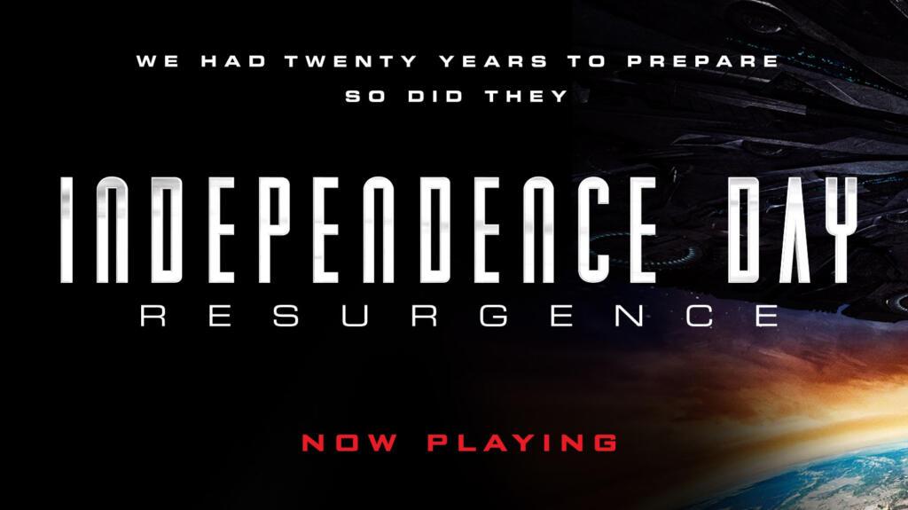 Independence Day 2 Resurgence poster teaser