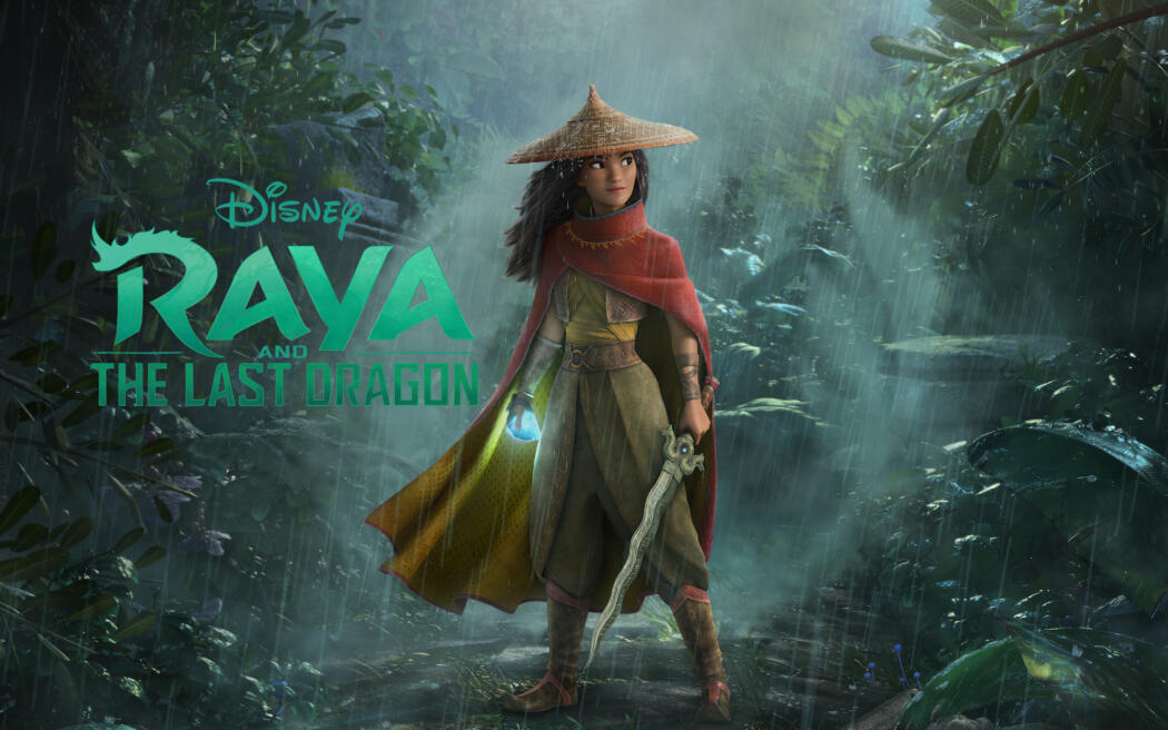 """""""Raya and the Last Dragon'' will be available on Disney+ with Premier Access in most Disney+ markets, at the same time as it is released in select theaters on March 5, 2021 (Credit: Disney)"""